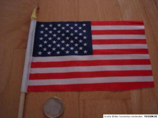 Fähnchen USA Vereinigte Staaten von Amerika Flagge Fahne Stabflagge