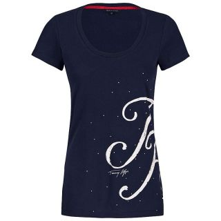 Tommy Hilfiger Damen T Shirt Tee Shirt Tshirt Top LEXA 1M87611061 NEU