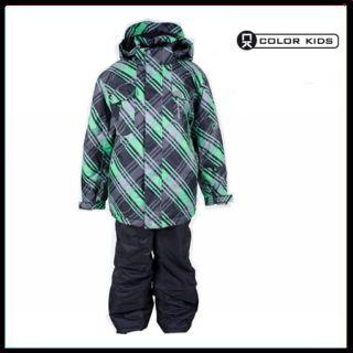 Color Kids Jabiru Skiset vibrant green