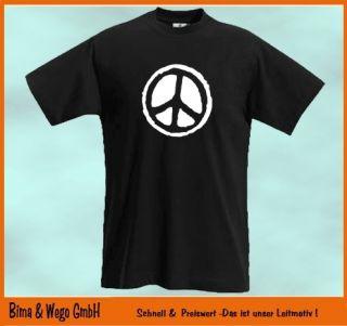 Shirt HIPPIE FLOWER POWER 60er 70er Gr. S XXL Retro Shirt 476