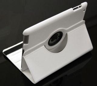 iPad 3 360° Drehbar Smart Leder Tasche Hülle Etui Schutz Cover Case