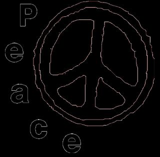 PEACE Symbol T Shirt HIPPIE FLOWER POWER 60er 70er Gr. S XXL Retro