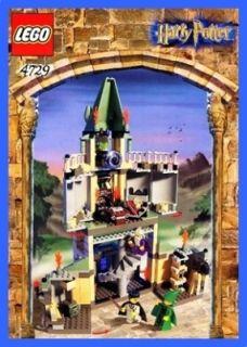 LEGO BAUANLEITUNG 4729 Harry Potter Dumbledore Büro 471