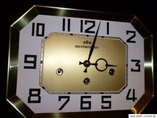 ODO Westminster, Art Deco Wanduhr, Regulator, Gold, 24, 36, TOP