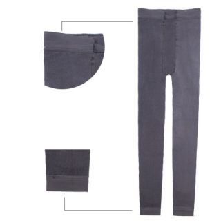 J466 Leggins Schlank Dehnbar Verdicken Leggings Pants Schwarz Innen
