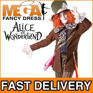 Verkleidung Erwachsene Mad Hatter Alice Im Wunderland Kostüm