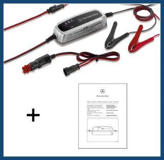 Original Mercedes Benz Ladegerät 3,6A für 12V Batterie von 14 Ah bis