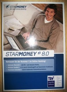 Starmoney 8.0 Online Banking Vollversion handbuch & CD