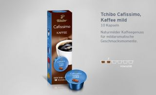 32/100g) Tchibo Cafissimo Filterkaffee 10 Kapseln   NEU