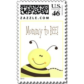 Le i Bee Bumble Bee Baby Shower Favor Sicker