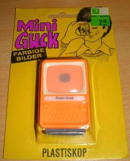 Plastiskop Mini Guck Walt Disney Robin Hood MISP in oVp