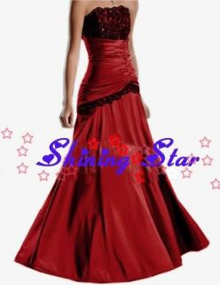 Elegant Taffeta evening dress homecoming party cocktail prom ball gown
