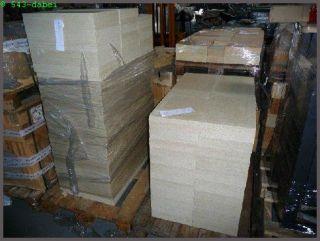Vermiculite Platte Schamottstein Ersatz 500 x 300 x 30