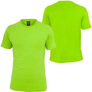 Urban Classics Basic Tee T shirt Neon Grün (68492)