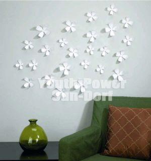 3D Blume Wandtattoo Wandstickers Haus Wanddekos Wandtatoo 10Farben