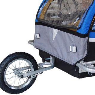 Kinderanhänger Fahrradanhänger Jogger Anhänger 2in1 EXTRAKLASSE