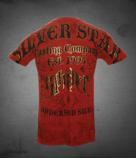 Silver Star Anderson Spider Silva T Shirt, MMA, UFC