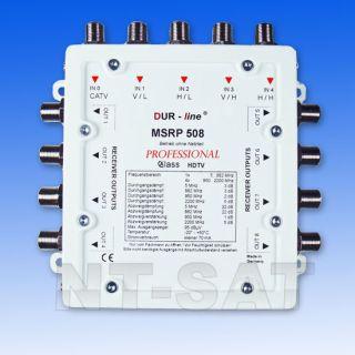 Multischalter ohne Stromanschluss MSRP 508 Professional. Auch lange
