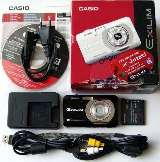 Casio Exilim EX Z80 8,1 MP Digitalkamera