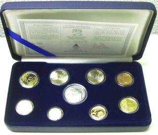 Finnland Kursmuenzensatz orig nom 3 88 Euro 2003 PP mit Silbermedaille