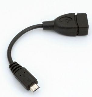 Micro USB zu USB Buchse Host OTG Adapter Kabel für Galaxy SII USB 2.0