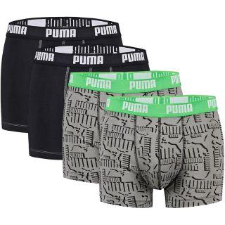 PUMA 4er Pack Doppelpack Boxershort Pant Boxer weiß schwarz S M L XL