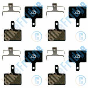 4Pairs/8Pads Shimano Deore Disc Brake Pads BRM525 M515
