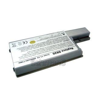 Laptop Battery Fit Dell Latitude D531 D820 M65 6600mAh