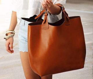 GK2489 New Fashion Womens Retro Faux Leather Tote Shoulder Bags