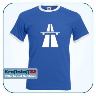 Autobahn T Shirt Gr. S   XXL BAB Autosnelweg