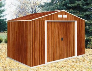 TEPRO Metallgerätehaus Wood 10x8 Schuppen 321x242x210cm