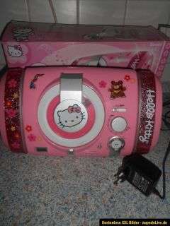 Hello Kitty CD Player Radio Musik Center Musikcenter gebraucht