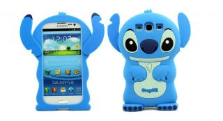 Lilo Stitch Cute 3D TPU SILICONE Toy Case Cover Samsung Galaxy S3 SIII