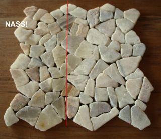 1m² Bruchmosaik Onyx Mosaik antik Bodenfliesen Wandfliesen Restposten