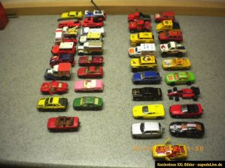 Konvolut 38 Spielzeugautos Matchbox Lesney Superfast Majorette Modell