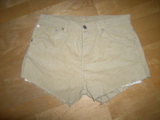 Hot Pants Shorts Levis 551 W32 L32
