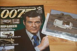 Nr. 50 James Bond 007 Modellauto Collection   MP Lafer   143 + Heft