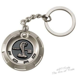Edler Ford Mustang Shelby GT 500 Schlüsselanhänger edel