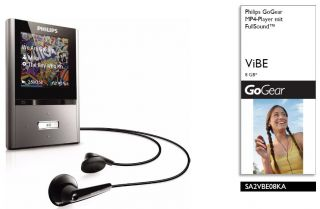 Philips GoGear Vibe 4GB MP4 Player SA2VBE04KA Garantie  Fullsound 2