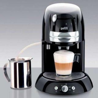 PETRA Kaffee Pad Automat Kaffeemaschine 1600 W Watt
