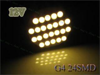G4 Mini 3528 LED Stiftsockel Lampe 24 SMD Warmweiss Licht