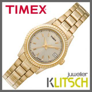 Timex Classic Women Rectangular Quarz Damen Uhr T2M560 UVP 79,90