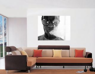 Kid Cudi Large Wall Art Poster 36x24 + free glue dots