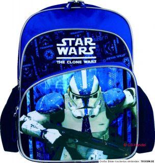 Star Wars Clone Trooper Rucksack XL blau Tasche Schule