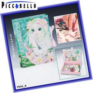 Depesche TopModel Fantasy Glitter Card Creative Box 7916 Auflage Juni