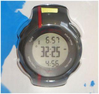 Red Garmin Forerunner FR 110 GPS Receiver Mens Sports Watch Heart Rate