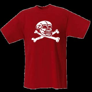 TOTENKOPF SKULL T Shirt Gothic Metal Skin S XXL 566