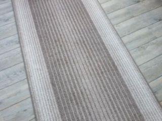 Moderner Teppich Läufer CAPITOL beige  braun 80x570 cm