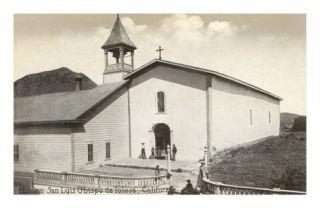 Mission San Luis Obispo Prints