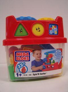 MEGA BLOKS   Set 590 SpinN Sorter NEU & OVP ab 1 Jahr